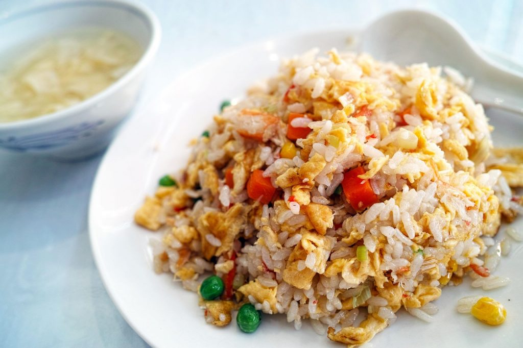 restaurant, chinese cuisine, fried rice
